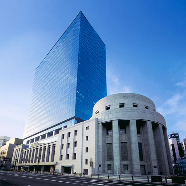 Photo of the Osaka Securities Exchange Bldg.