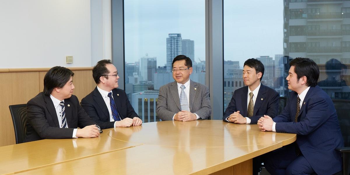 大阪事務所座談会風景