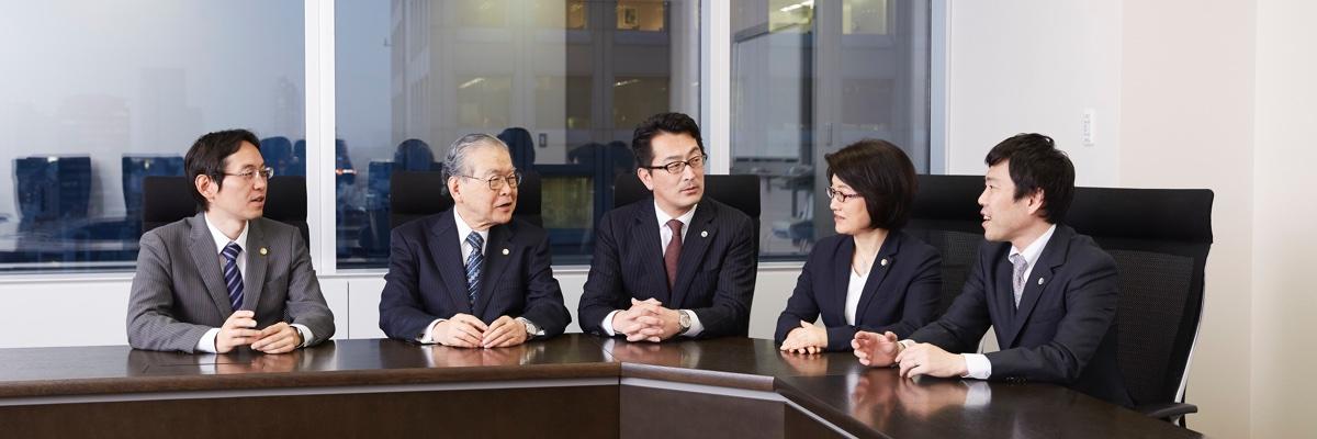 東京事務所座談会風景